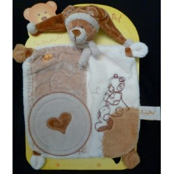 Doudou Ours BABY NAT' Plat...
