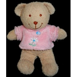 Doudou Ours TEX Tee-shirt Rose