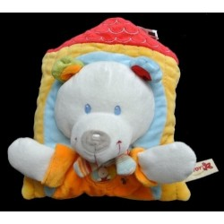 Doudou Ours NICOTOY Coussin