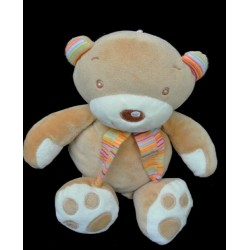 Doudou Ours BABY CLUB 28cm