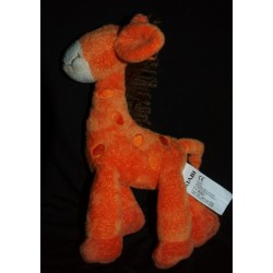 Doudou Girafe KIABI Orange