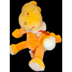 Doudou Dragon BENGY Orange